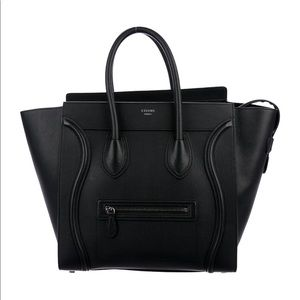 Céline Mini Tote in Black